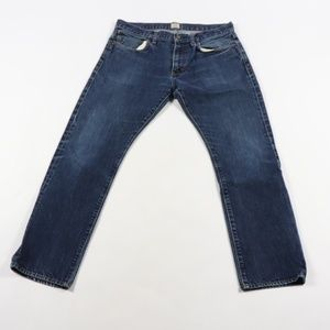 J Crew 484 Slim Fit Skinny Denim Jeans Blue 32x30